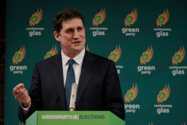 Eamon Ryan at Green Party Convention 2014