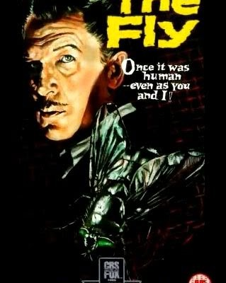 The Fly- 1958 movie poster.